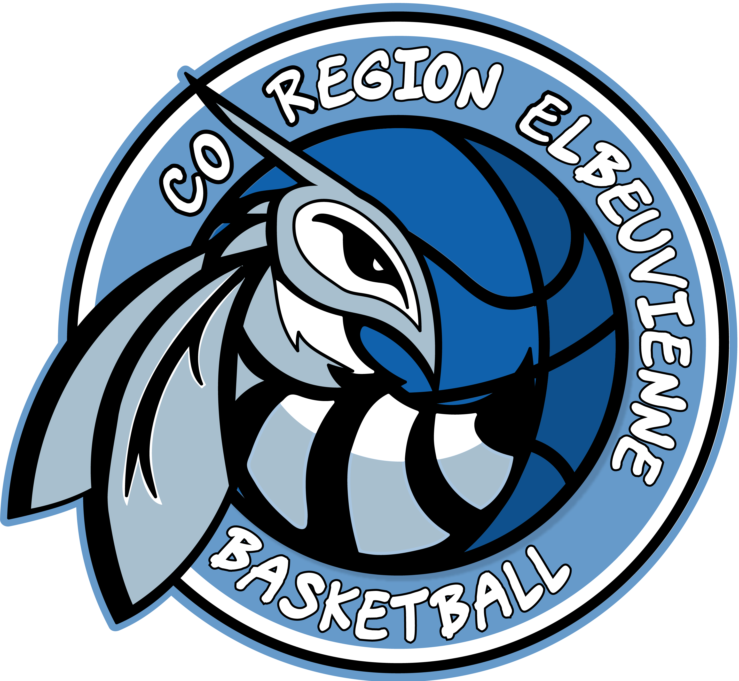 Club Omnisport Région Elbeuvienne - section basketball logo