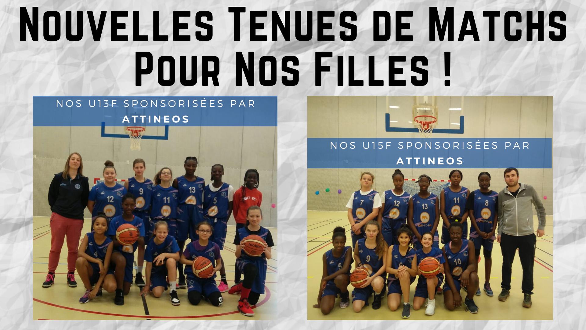Le CORE Basket tient à remercier ATTINEOS pour son aide et ses nouvelles tenues pour nos U13 et U15 féminines.